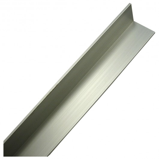"1/16"" x 1/2"" x 3/4"" x 3-ft Aluminum Angles"