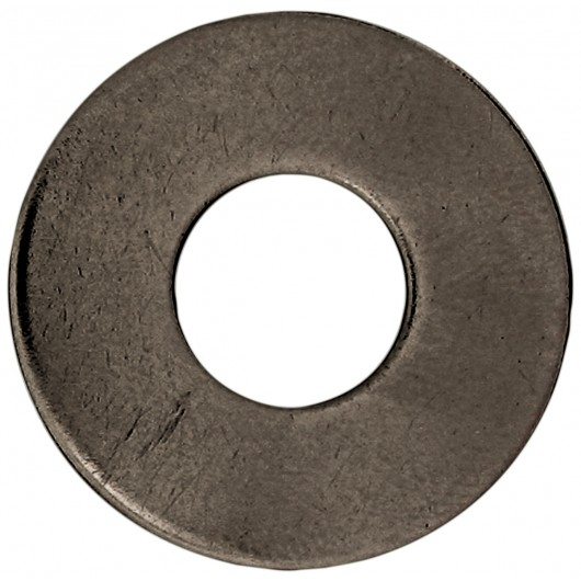 "1 1/2"" L Bolt Size-Plain Steel Washers-1 lb"