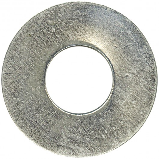 "1/2"" Bolt Size-Steel SAE Washer -100 Pack-Zinc Plated"