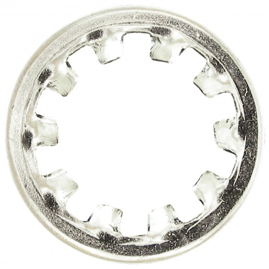 "1/2"" 410 Stainless Steel Internal Tooth Lock Washers"