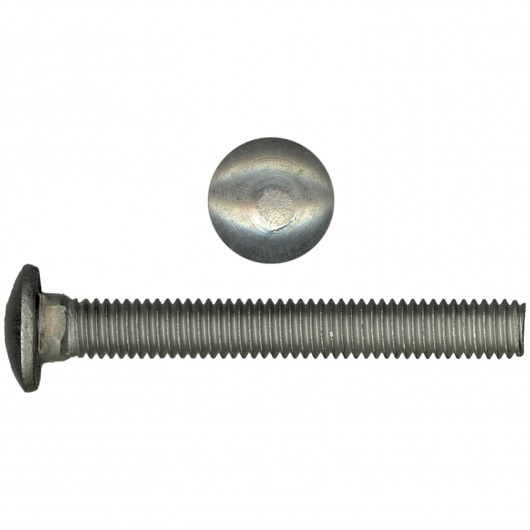 "1/4""-20 x 2 1/2"" 18.8 Stainless Steel Carriage Bolt-UNC"
