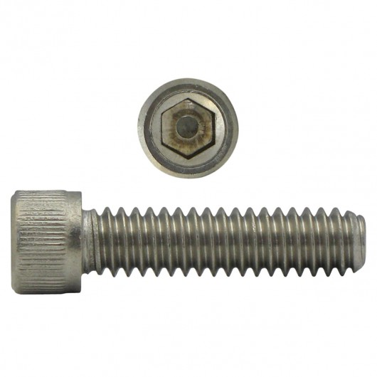 "1/4""-20 x 2 1/2"" 18.8 Stainless Steel Socket Head Cap Screw-UNC"