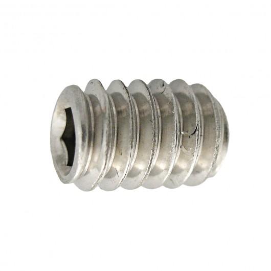 "1//4/""-28 x 3//8/"" Fine Thread Socket Set Screw Cup Pt Stainless Steel 18-8"