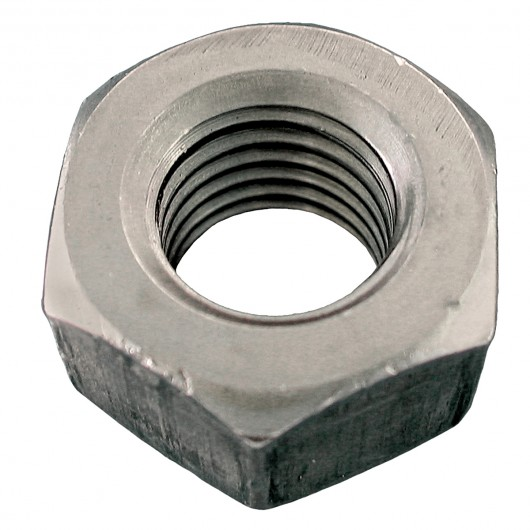 "7/8""-9 18.8 Stainless Steel Heavy Semi-Finished Hex Nut-UNC"