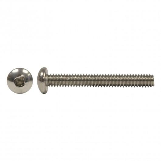 "6-32 x 1/2"" 18.8 Stainless Steel Round Head Socket Machine Screw"