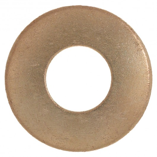 """5/8"""" (1 1/2"""" O.D.) Silicon Bronze Flat Washer"""