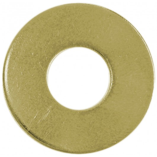M24 Metric Flat Washers-Yellow Zinc Dichromate Plated-ISO 7089 - H