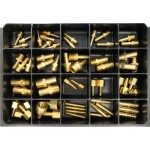 Hose Barbs Master Assortment: Contains 59 Fittings