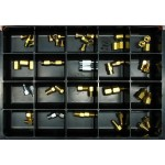 Hydraulic Brake Fittings Master Assortment: Contains 52 Fittings