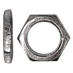 "3/8""-24 Zinc Plated Steel Panel Thin Nut"