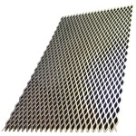 "1/2"" x 24"" x 24"" Expanded Steel Sheet"