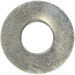 8-Bolt Size-Steel SAE Washer-1 lb-Zinc Plated