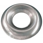 No.6 Brass Countersunk Finishing Washer-Standard Type-Nickel Plated