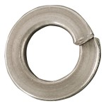 "1/4"" 18.8 Stainless Steel Medium Lock Washers"
