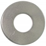 """3/8"""" (1"""" O.D.) 18.8 Stainless Steel Flat Washer"""