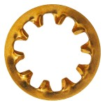 "1/4"" Phosphor Bronze Internal Tooth Lock Washers"