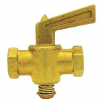 """1/8"""" Shut-off Cock Plug Type-Female Pipe to Pipe"""