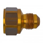 """1/4"""" x 3/8"""" Flare Adapter -Male Flare by Female Flare Tube"""