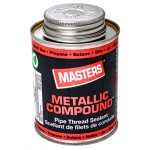 250ml Masters Metallic Compound Pipe Thread Sealant with Brush Top