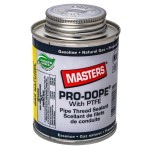 250 ml Masters Pro-Dope Pipe Thread Sealant with Brush Top