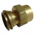 "1-1/4"" x 3/4"" Brass Adaptor"