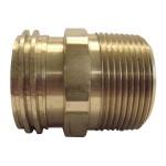 "1-3/4"" x 3/4"" Brass Adaptor"
