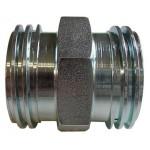 """3-1/4"""" x 3-1/4"""" Steel Male Adaptor"""