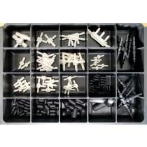 Vacuum Connectors Master Assortment: Contains 138 Pieces