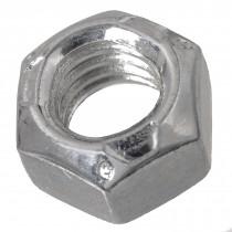 "1""-8 Conelok Lock Nut-Zinc Plated-Grade B-UNC"