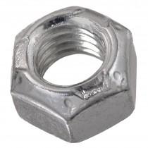 "1 1/8""-7 Conelok Lock Nut-Zinc Plated-Grade C-UNC"