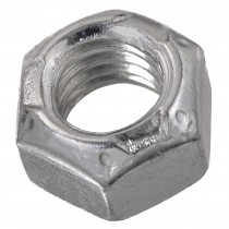 """1 1/8""""-12 Conelok Lock Nut-Zinc Plated-Grade C-UNF"""