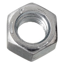 """1 1/2"""" - 6 Finished Hex Nut - Zinc Plated - Grade 5 - UNC"""