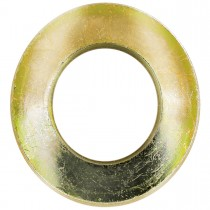 "1/4"" Papcolloy Tension Washers-Gold Zinc Plated"