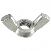 10-32 Stamped Steel Wing Nut-Zinc Plated