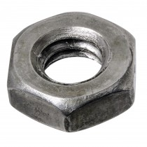 "1/4""-28  Finished Hex Jam Nut-UNF"