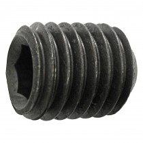 "10-24 x 3/8"" Alloy Steel Cup Point Socket Set Screw-UNC"