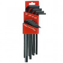 "0.05"", 1/16"", 3/64"", 3/32"", 7,64"", 1/8"", 9/64"", 5/32"", 3/16"", 7/32"", 1/4"", 5/16"", 3/8"" Long Arm Socket  Key Sets"