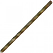 "1 1/4""-7 x 36"" B7- Papcolloy High Strength Fully Threaded Uni-Rods-Zinc Plated-UNC"