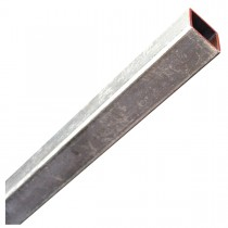 "1 1/2"" x 3' Steel Square Tubing Zinc Plated"