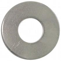 "3/16"" Bolt Size-Plain Steel Washer-Zinc Plated-5 lb"