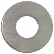 "1/4"" Bolt Size-Plain Steel Washer-Zinc Plated-1 lb"