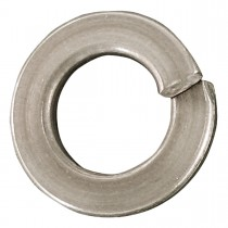 "1 1/8"" Steel-Regular Spring Lock Washers-Zinc Plated"