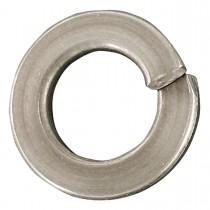 "7/16"" Steel-Regular Spring Lock Washers-Zinc Plated -100 Pack"