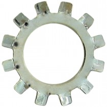 "6 (1/8"") External Tooth Lock Washers-Zinc Plated"