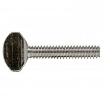 """6-32 x 1/2"""" Thumb Screw-Standard-Zinc Plated-UNC"""