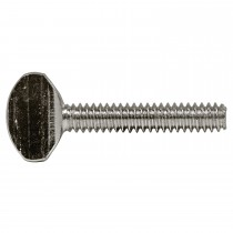 "10-32 x 1"" Thumb Screw-Standard-Zinc Plated-UNF"