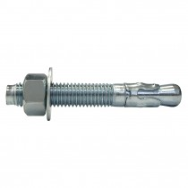 """3/8"""" x 3"""" Wedge Anchors-Zinc Plated"""