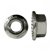 M6-1.0 Metric Spin Lock Nuts with Serrations