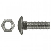 "3/8-16"" x 1-1/4"" Bumper Bolts Stainless Steel Cap Round"