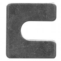 "1-5/16"" x 1-1/8"" Body Shim - 1/16"" Thickness, 3/8"" slot"